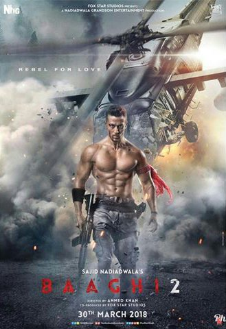 Baaghi 2 2018 pDvDRiP HDFriday mp4 – all in one
